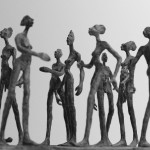 Passanten Bronze cire perdue