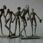 Sechseck, Bronze