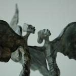 Zwei Engel Bronze cire perdue
