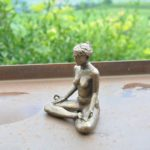 Meditation, klein, Bronze